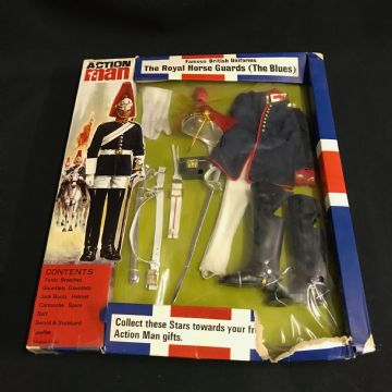 ACTION MAN - FAMOUS BRITISH UNIFORMS - THE ROYAL HORSE GUARD  - THE BLUES